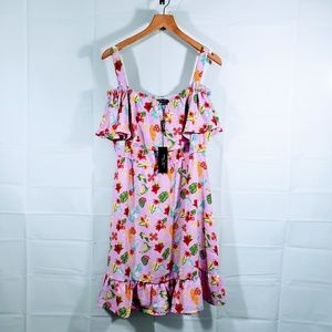 NWT ROMEO + JULIET CULTURE FLOWER DRESS SZ M